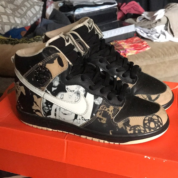 new concept eb189 15f1a ... carousell 996d8 95032 italy nike sb unkle dunkle high 0269e 40621  aliexpress jens uhlemann nike dunk high pro ...